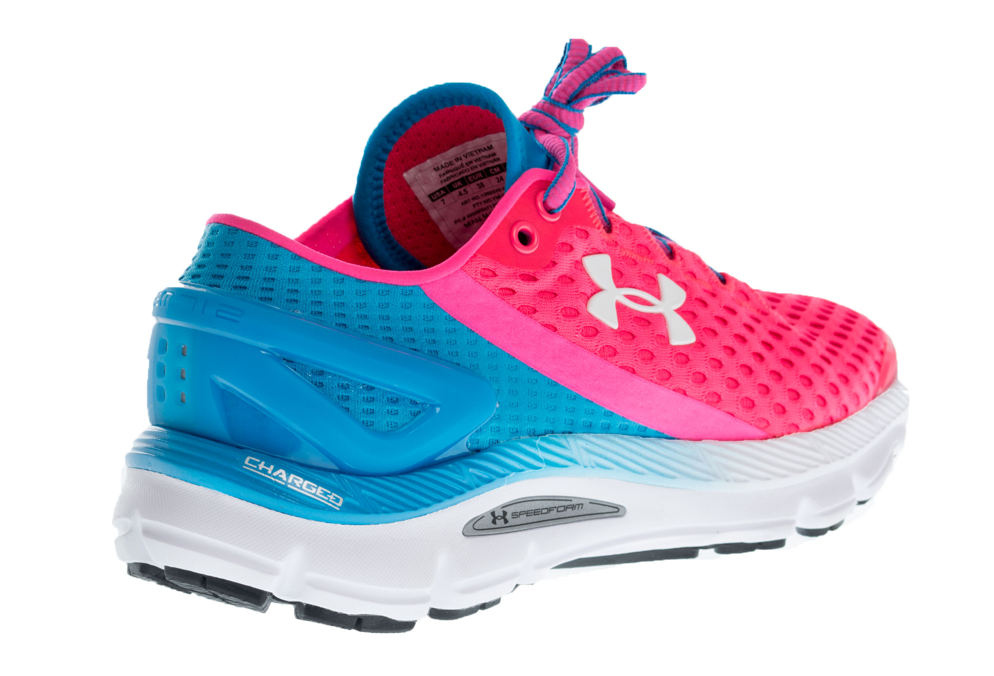 newest 20eb9 3274f UNDER ARMOUR SPEEDFORM GEMINI 2 Pair of Shoes Pink Blue Women