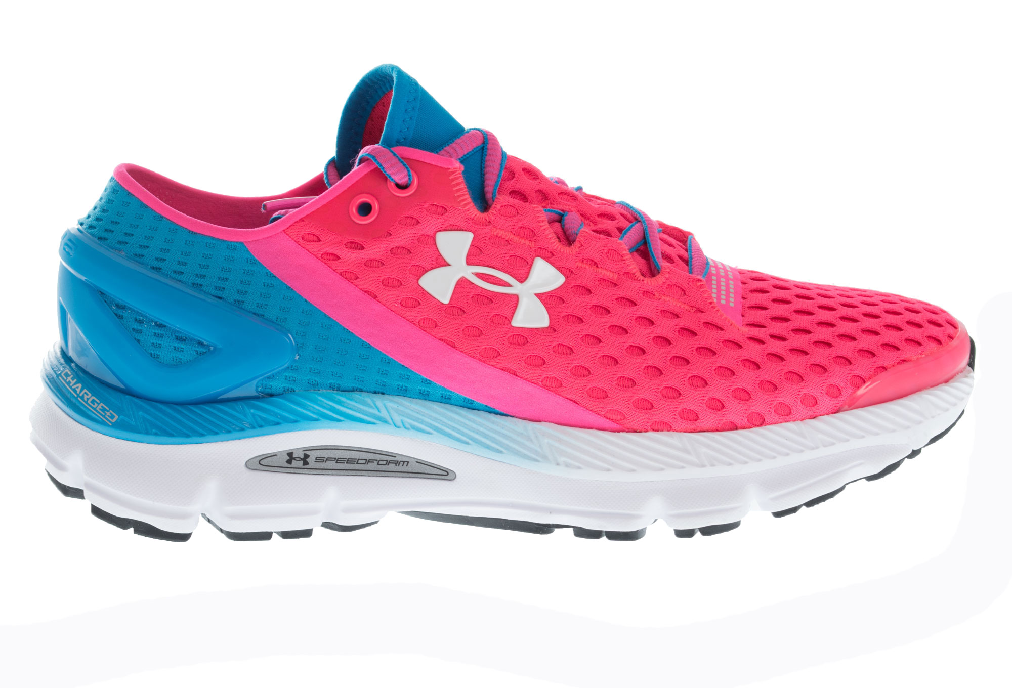 UNDER ARMOUR SPEEDFORM GEMINI 2 Pair of Shoes Pink Blue Women ... ce7a3ad21960