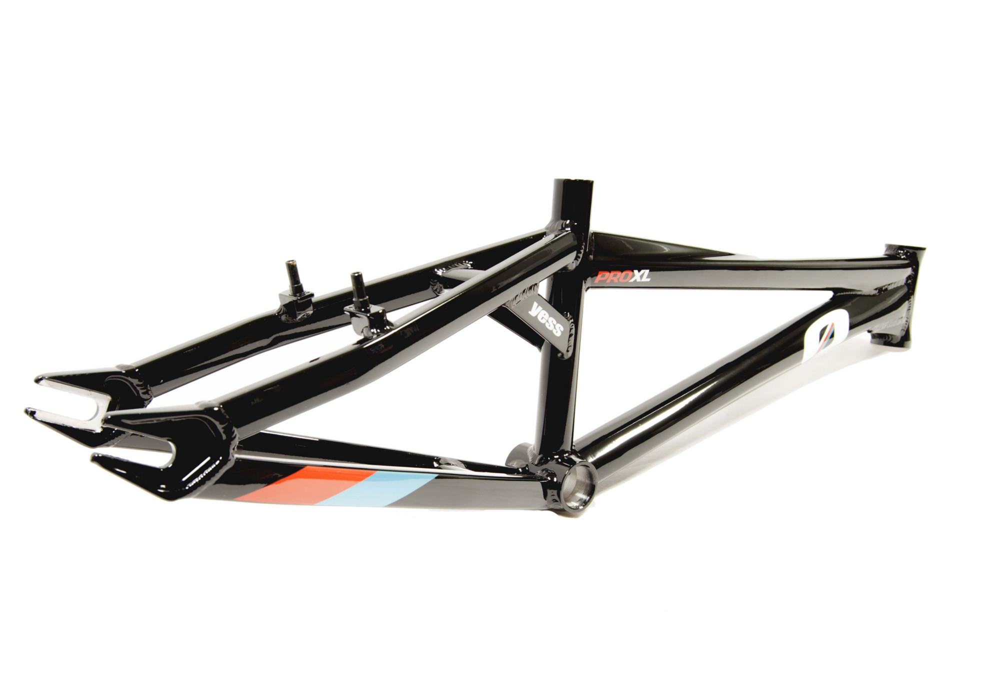 YESS BMX Frame Type-0 Black   Alltricks.com