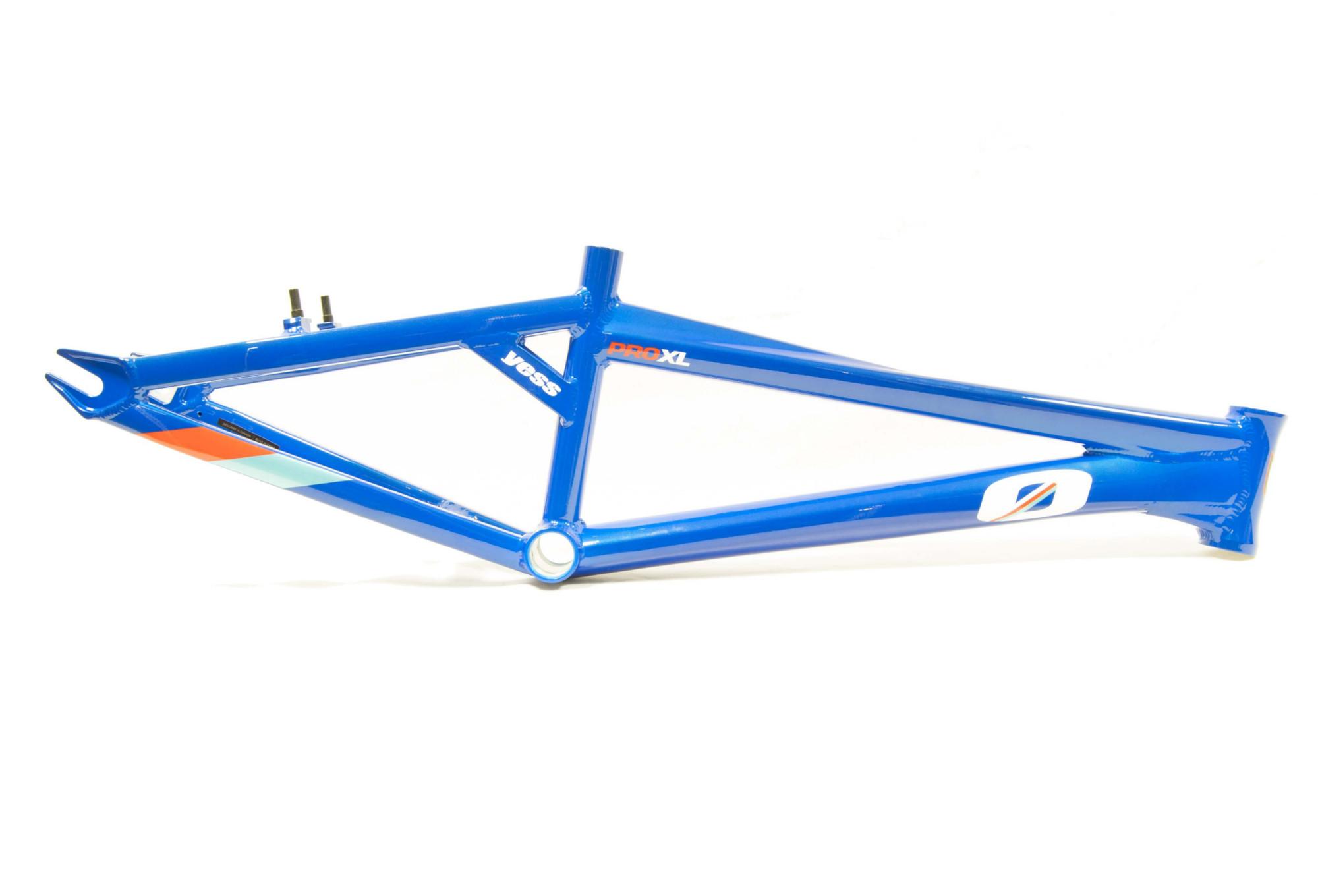 YESS BMX Frame Type-0 Blue   Alltricks.com