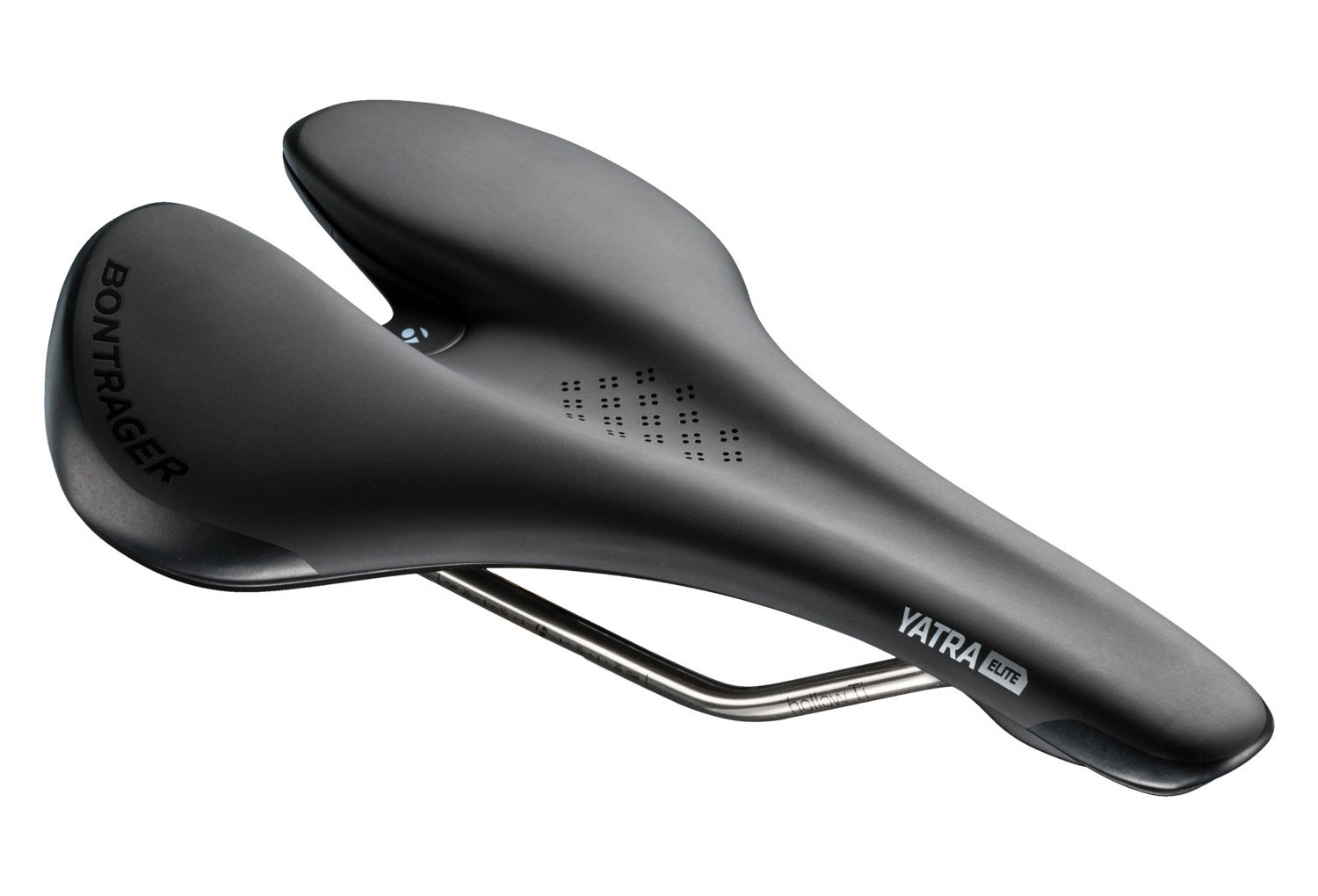 144mm Hollow Ti Rails titanium Women/'s NEW Bontrager Yatra Elite Saddle Black