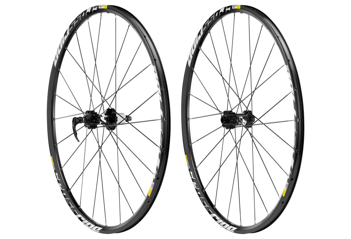 mavic paire de roues crossride 29 axes 15x100mm av 142x12mm ar corps de roue libre. Black Bedroom Furniture Sets. Home Design Ideas