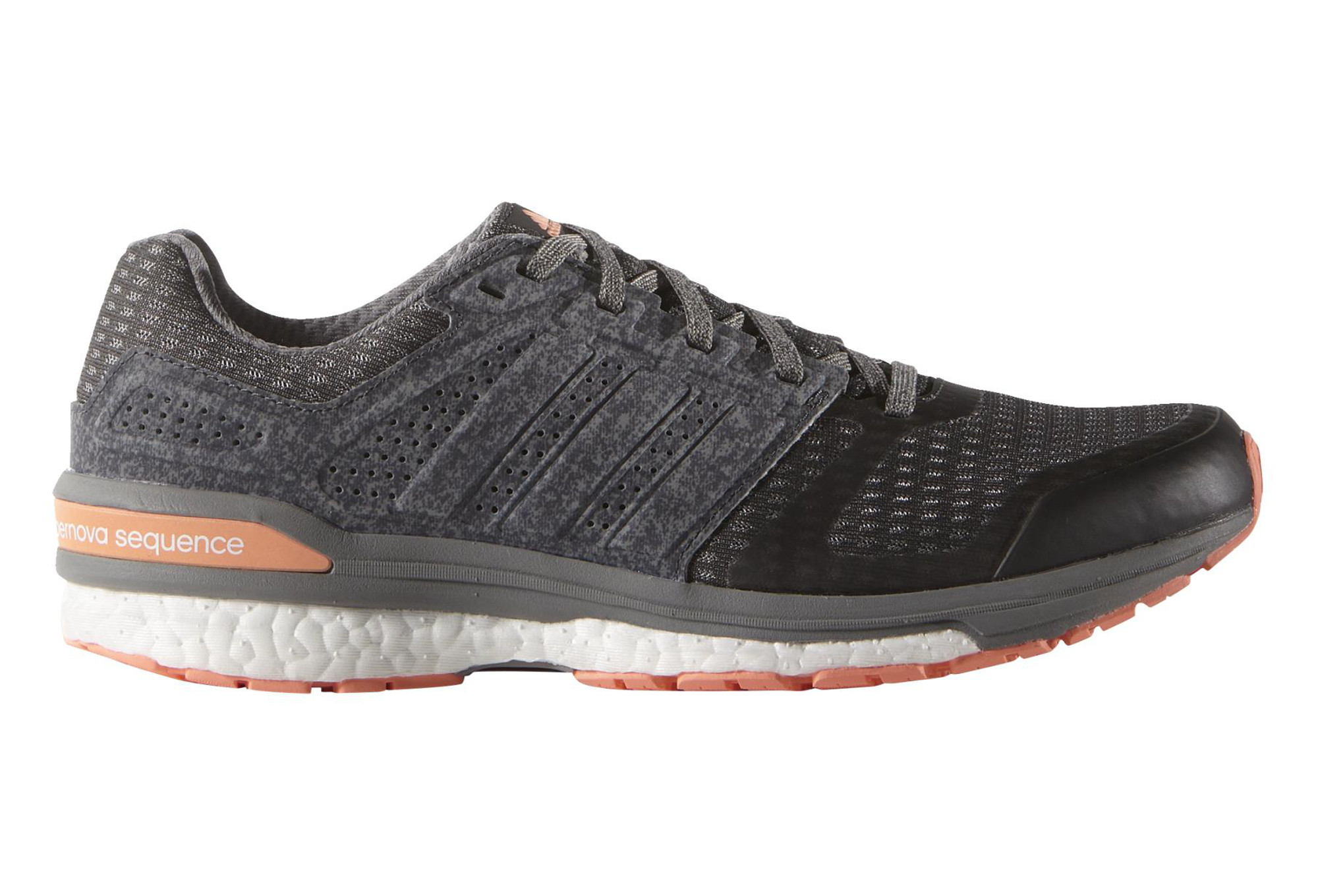super popular 457eb 9405d adidas SUPERNOVA SEQUENCE BOOST 8 Pair of Shoes Grey Pink Women