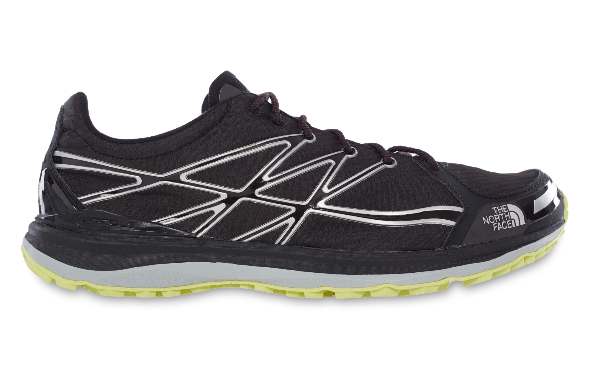 ce7498bdd4a THE NORTH FACE Shoes ULTRA TR II Black Yellow Men
