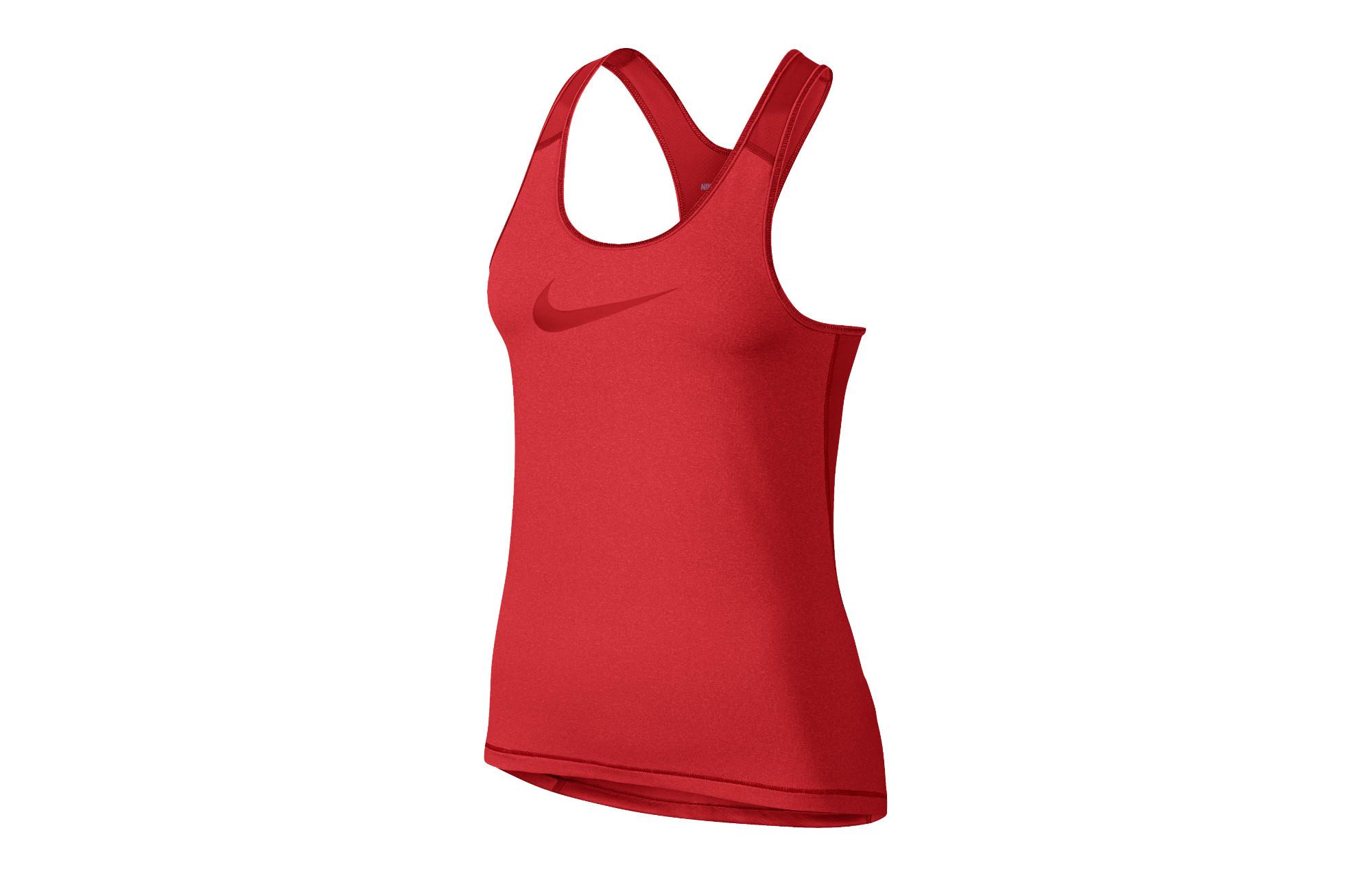 Rouge Débardeur Femme Pro Nike Cool XOqw7d8