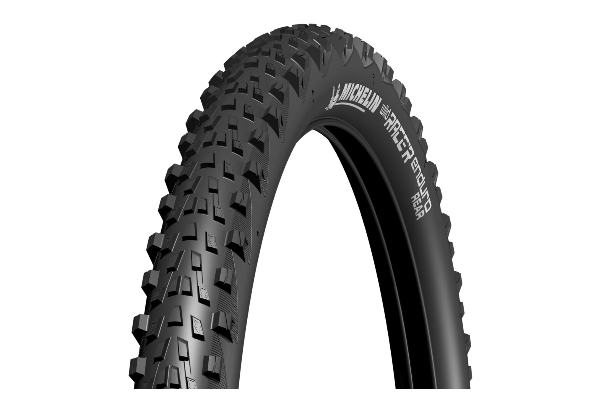 Pneu D été >> Pneu Enduro Michelin Wild Race R Enduro Rear 27 5 Gum X Tubeless