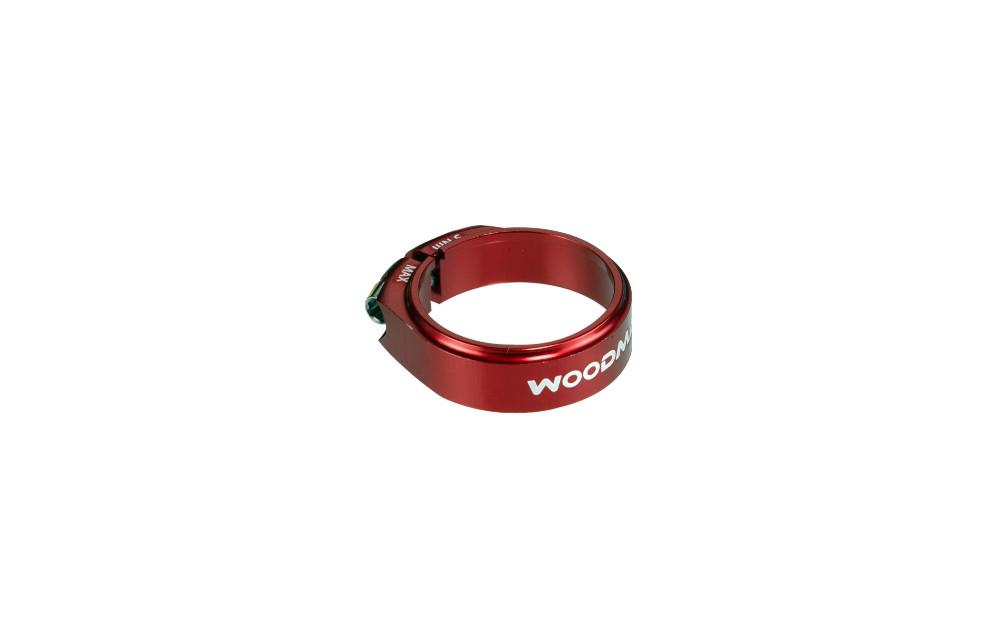 WOODMAN Seat Clamp DEATHGRIP SL Ti Red