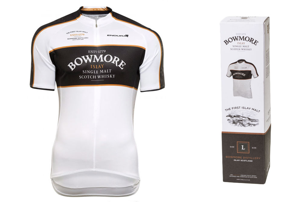 ENDURA Short Sleeves Jersey BOWMORE Whisky White  d245dede2