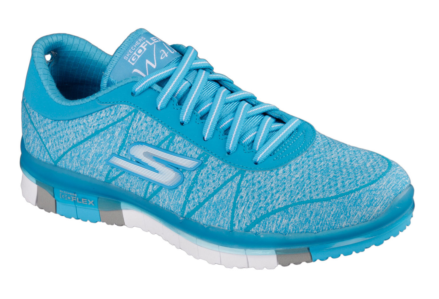 buying now outlet online crazy price SKECHERS Running Shoes GO FLEX Blue Women