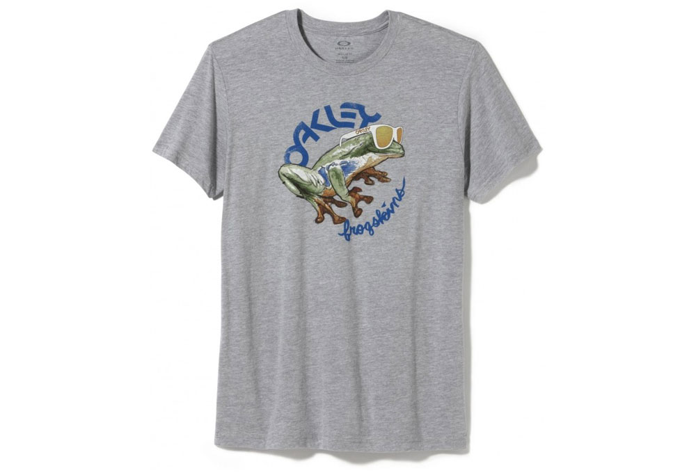 61f35b335da0 Oakley Men s Rock The Frogskins T-shirt - Bitterroot Public Library