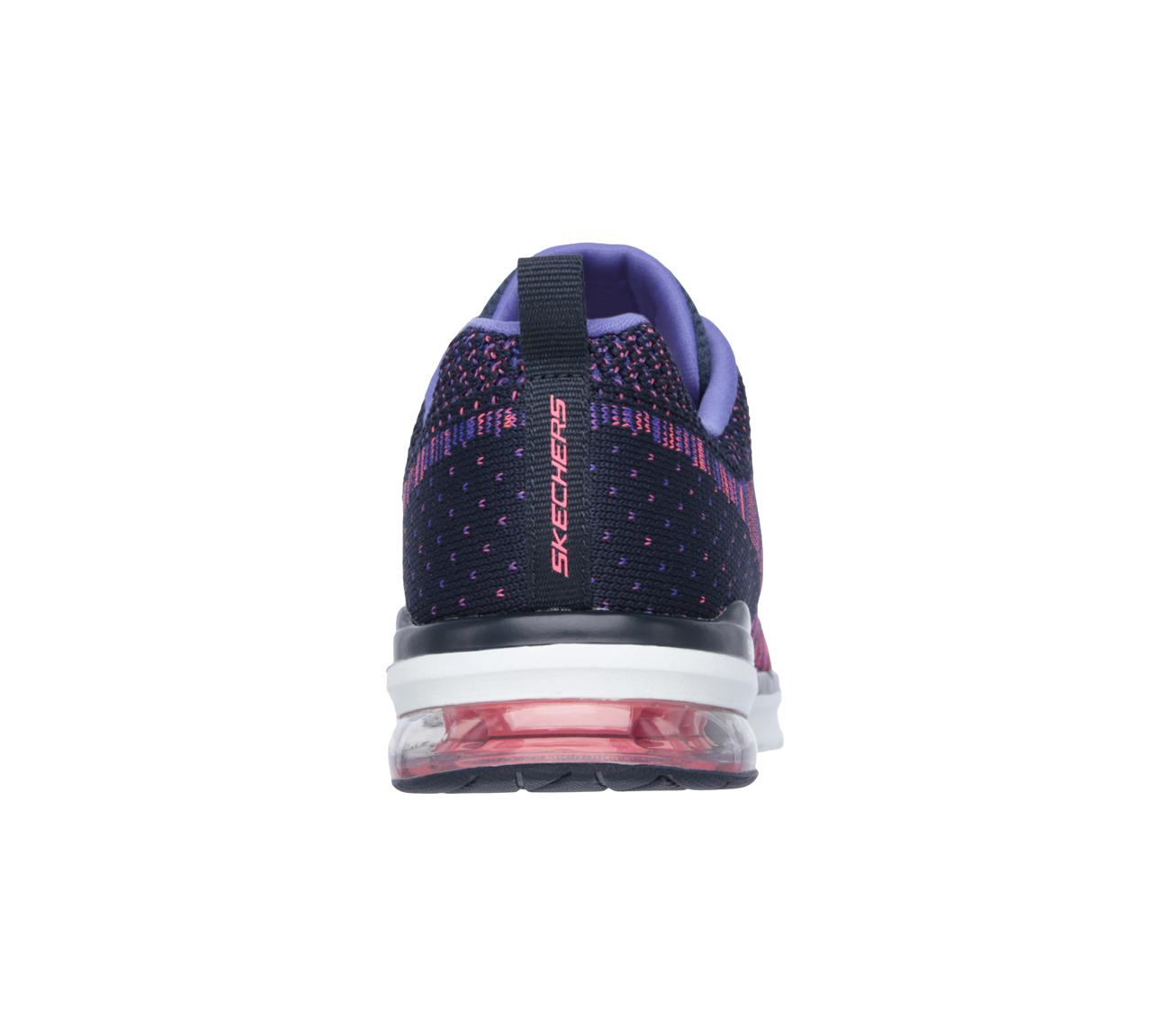 2895e79d7cb6 SKECHERS Running Shoes SKECH-AIR INFINITY-WLIDCARD Pink Purple Women ...