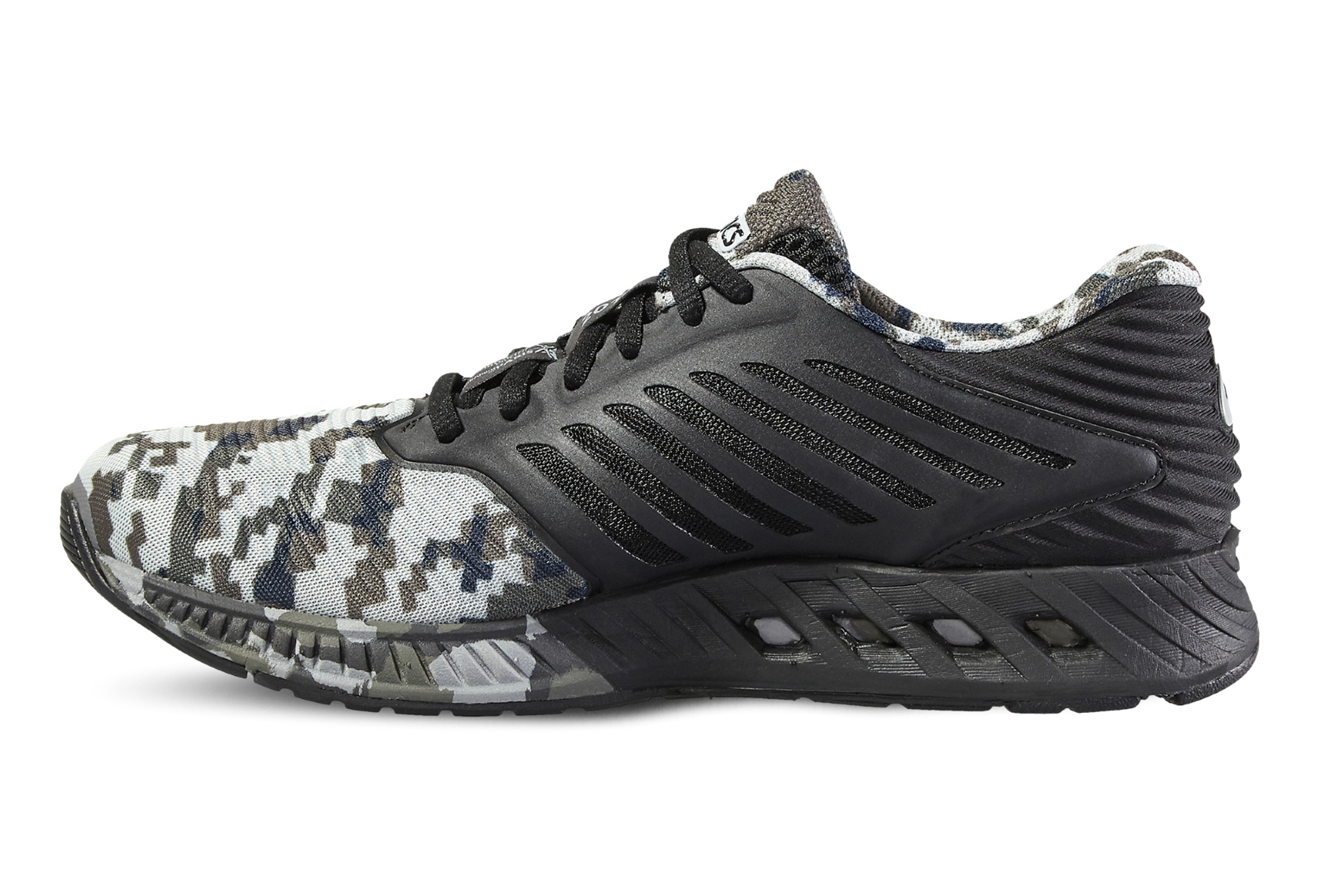 ASICS Shoes FUZEX Marathon de Paris Black Grey Women