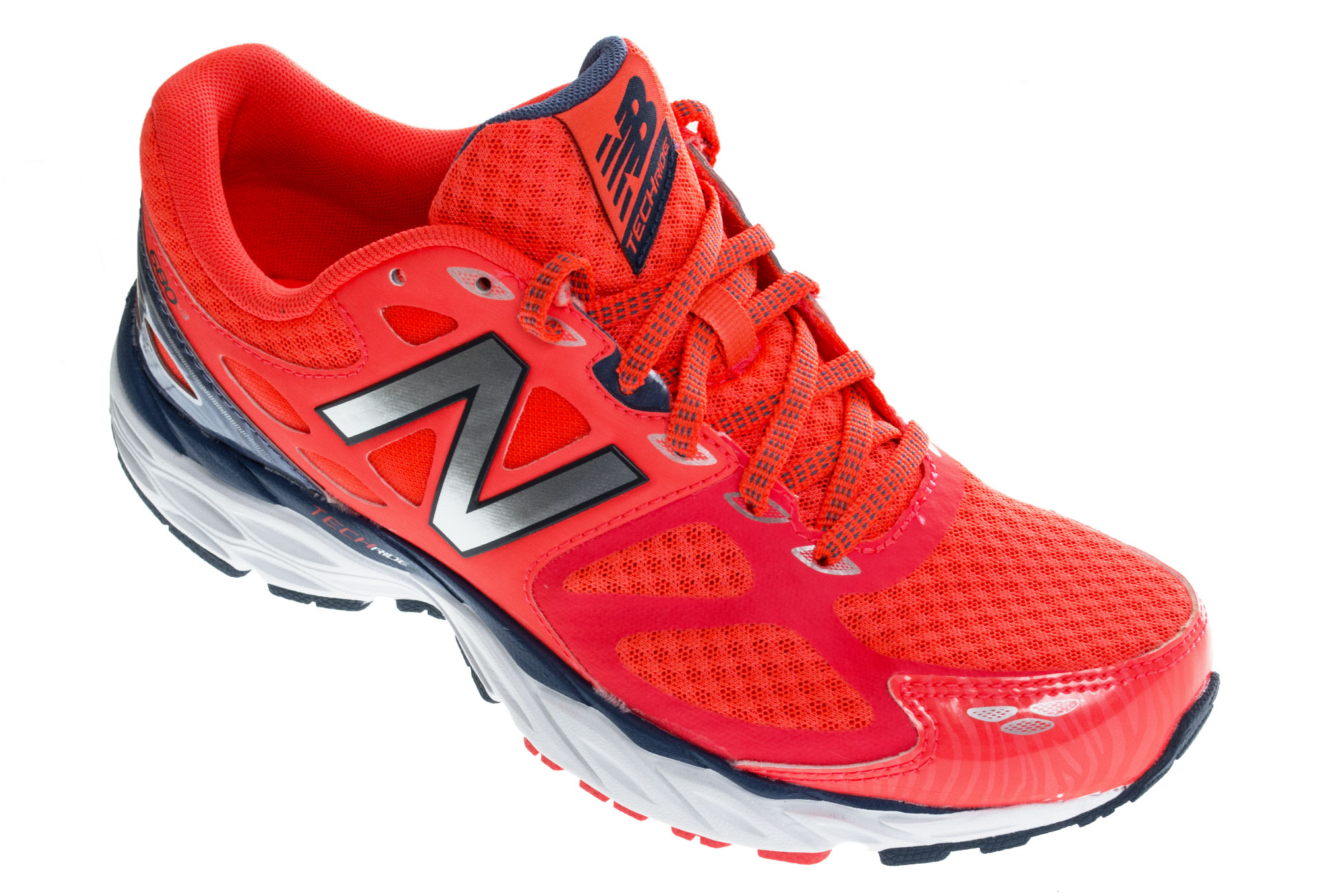 NEW BALANCE Scarpe W680 V3 Larghezza B Orange Blue Donna