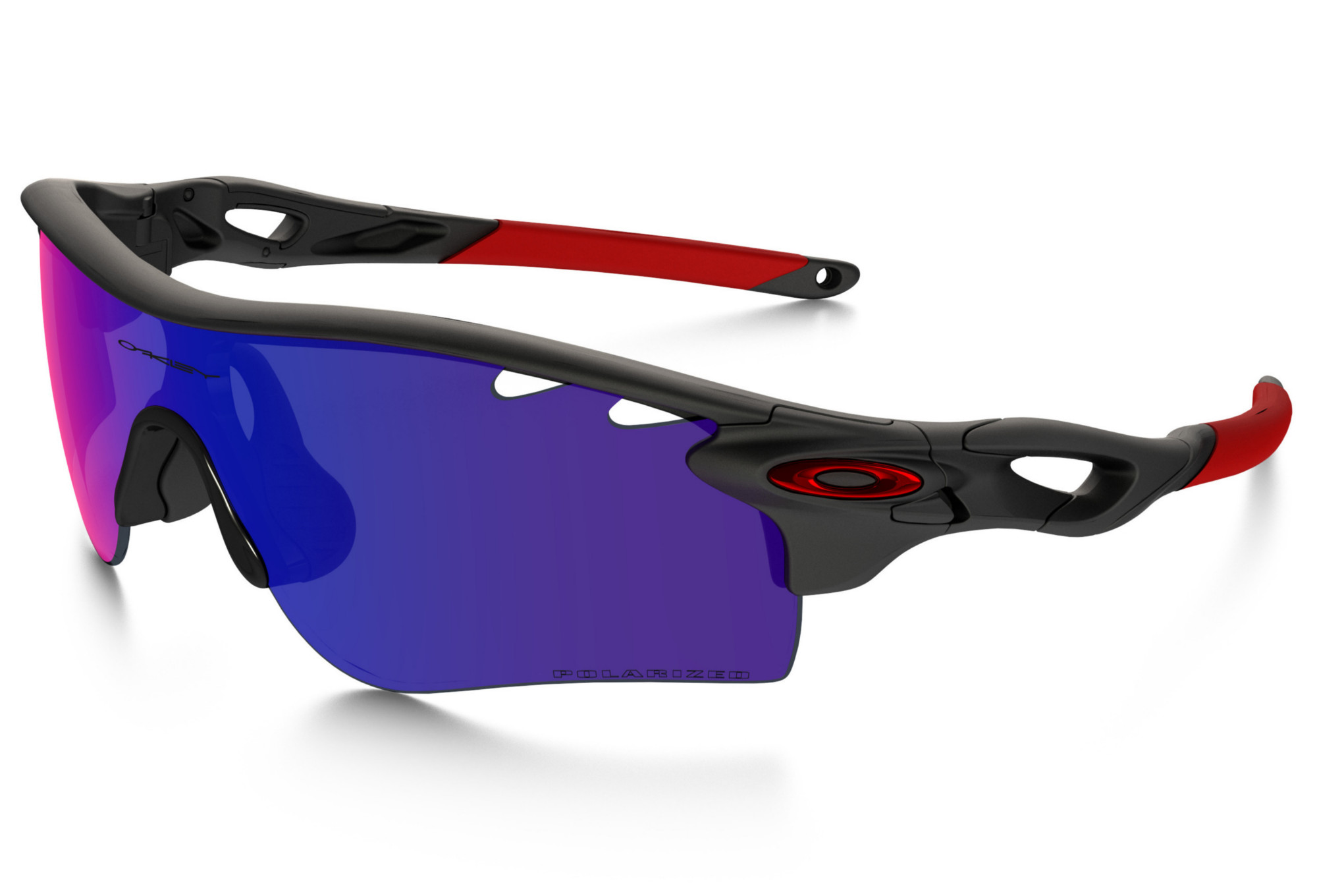 3de5a7b56b OAKLEY Sunglasses RADARLOCK Path Black red