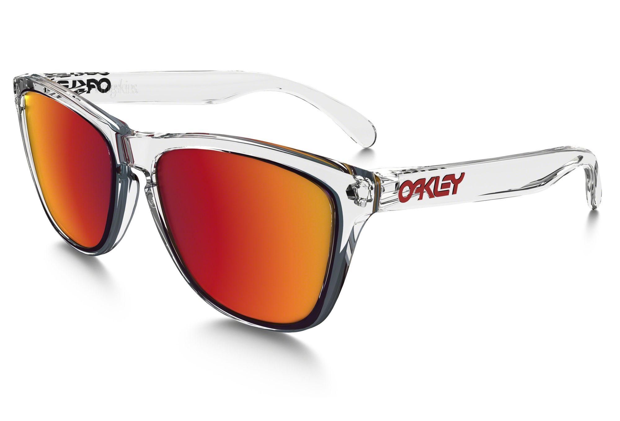 A5 Lunettes Iridium Frogskins Oakley Miroir Oo9013 Red Clear F3KclJ1T