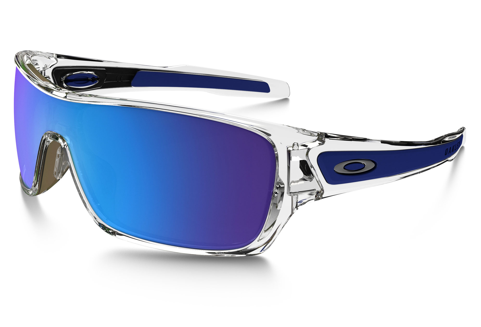 275f90f2a3 OAKLEY Sunglasses TURBINE ROTOR Polished Clear   Sapphire Iridium OO9307-10
