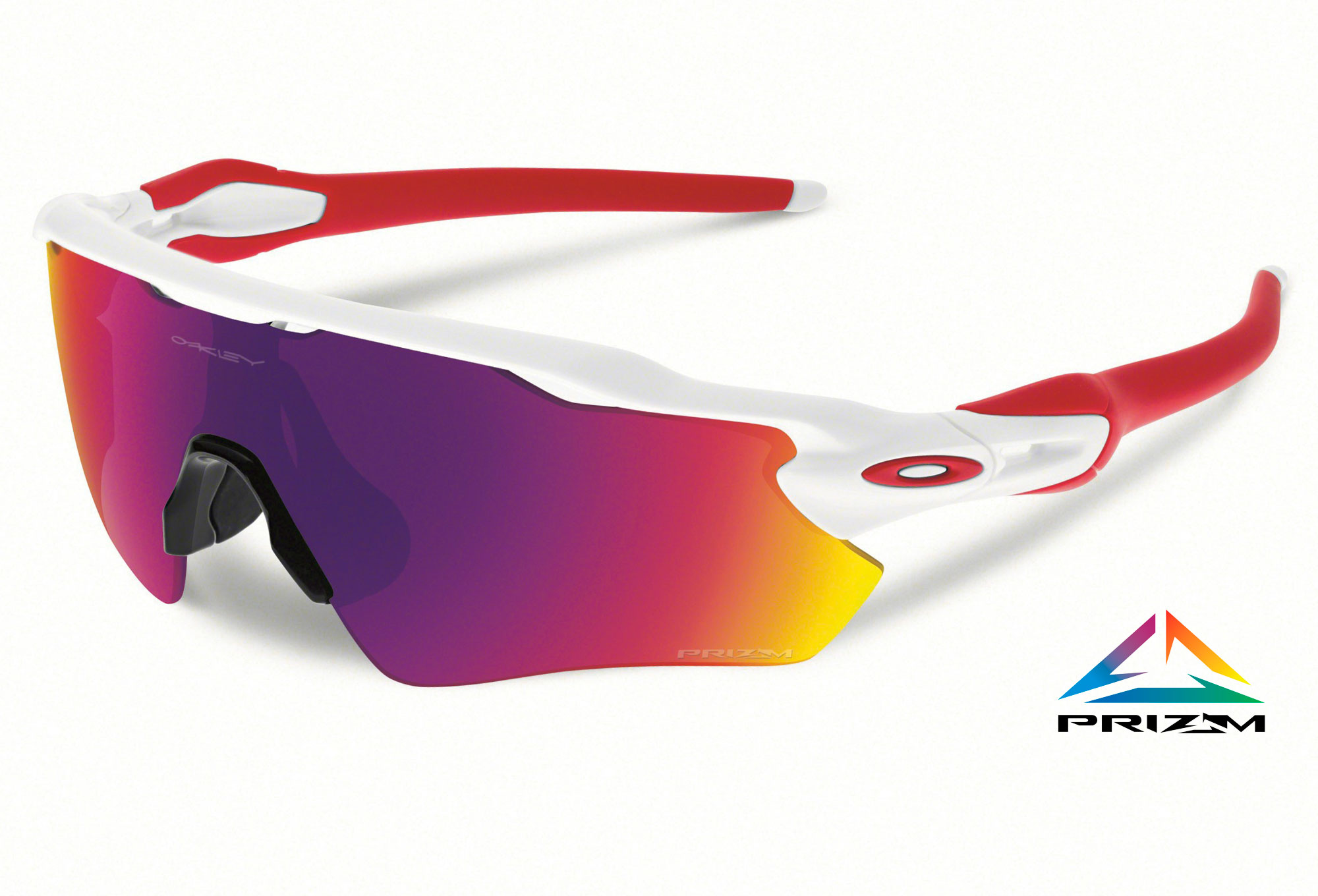 OAKLEY Lunettes PRIZM ROAD RADAR EV PATH White Prizm Road Réf OO9208 ... de2913bb4fc2