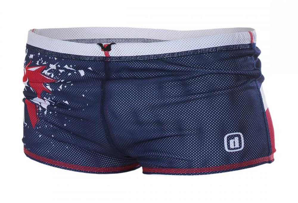 z3r0d maillot de bain dragshort france bleu rouge. Black Bedroom Furniture Sets. Home Design Ideas