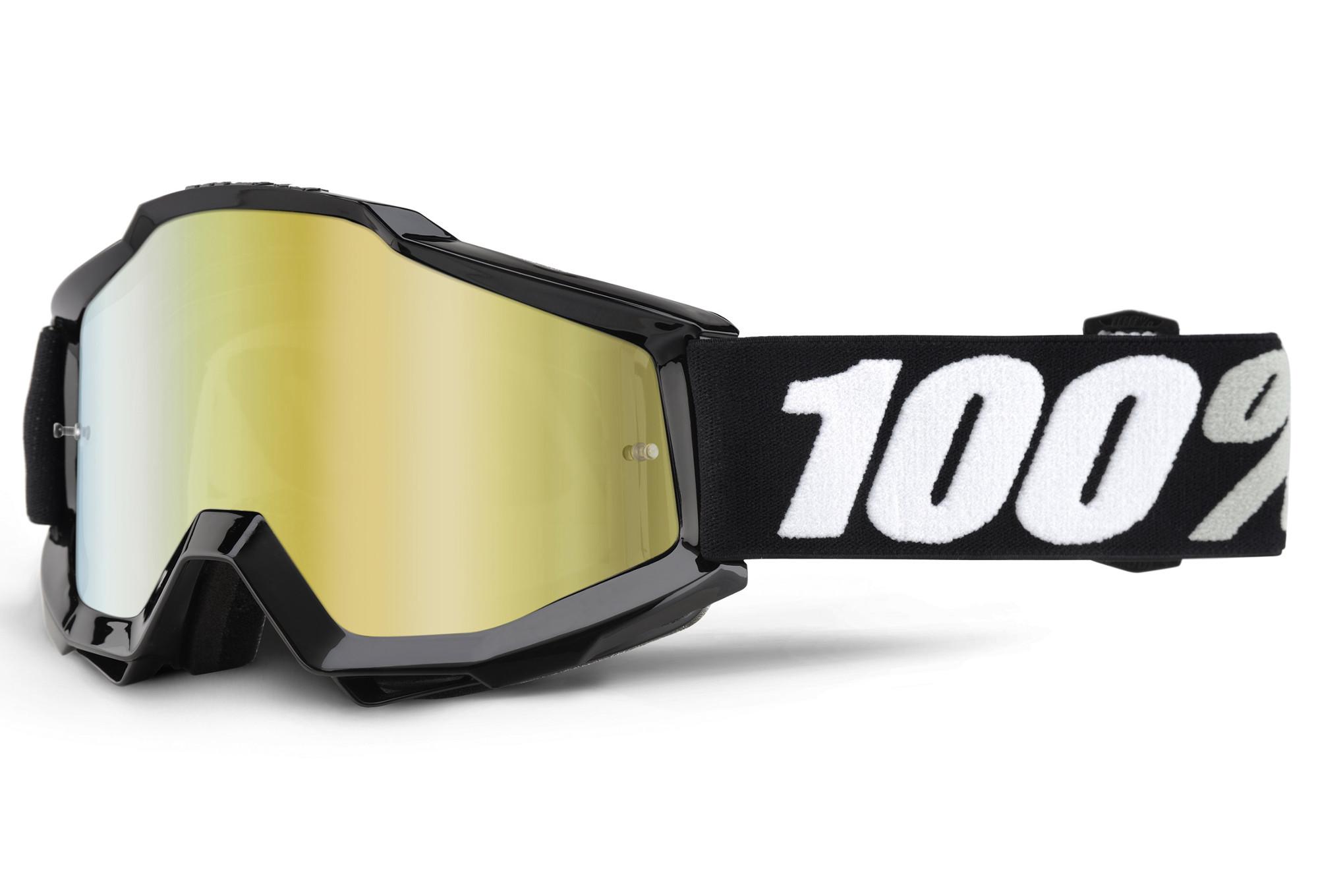 100% Masque Accuri Tornado Ecran Miroir Or 2018 4Rtr5I