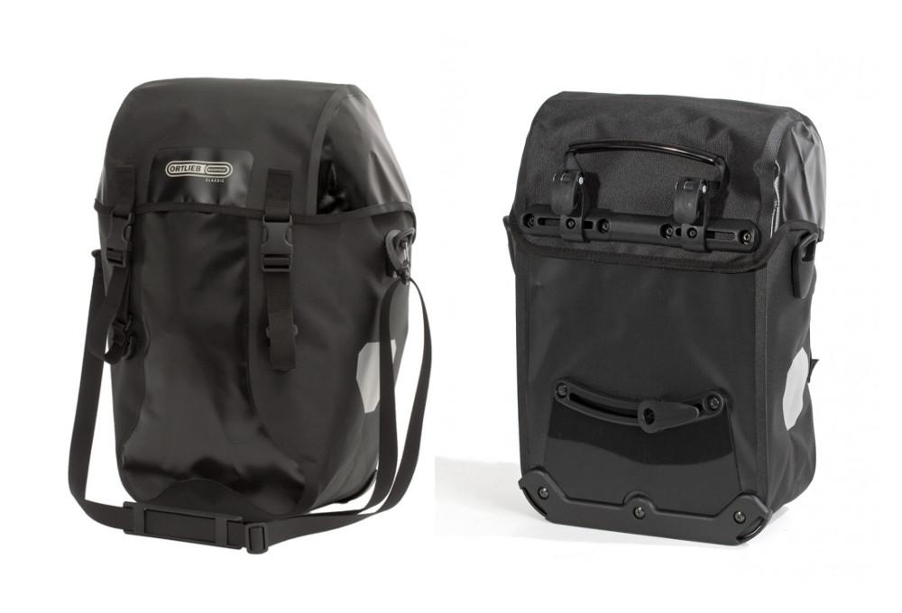ortlieb paar trunk bag bike packer classic schwarz. Black Bedroom Furniture Sets. Home Design Ideas