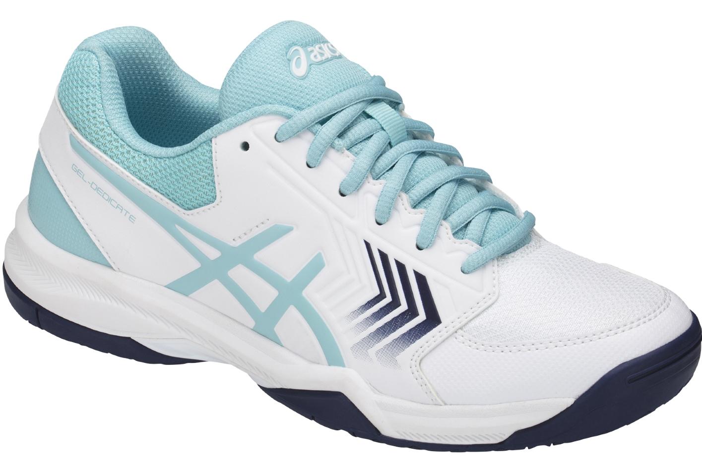 E757y 0114 Gel Chaussures Femme De Asics Rose Tennis Dedicate 5 UMSqzVp