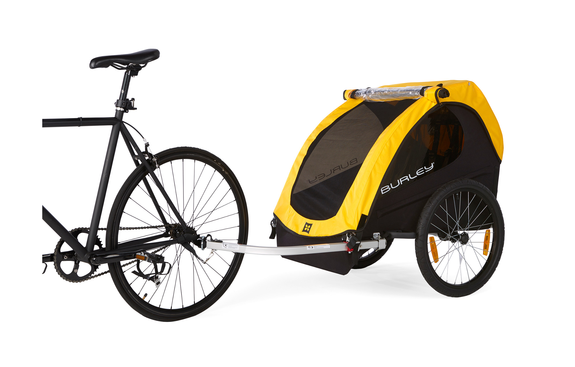 Tinted Black And Yellow Bikes For Kids