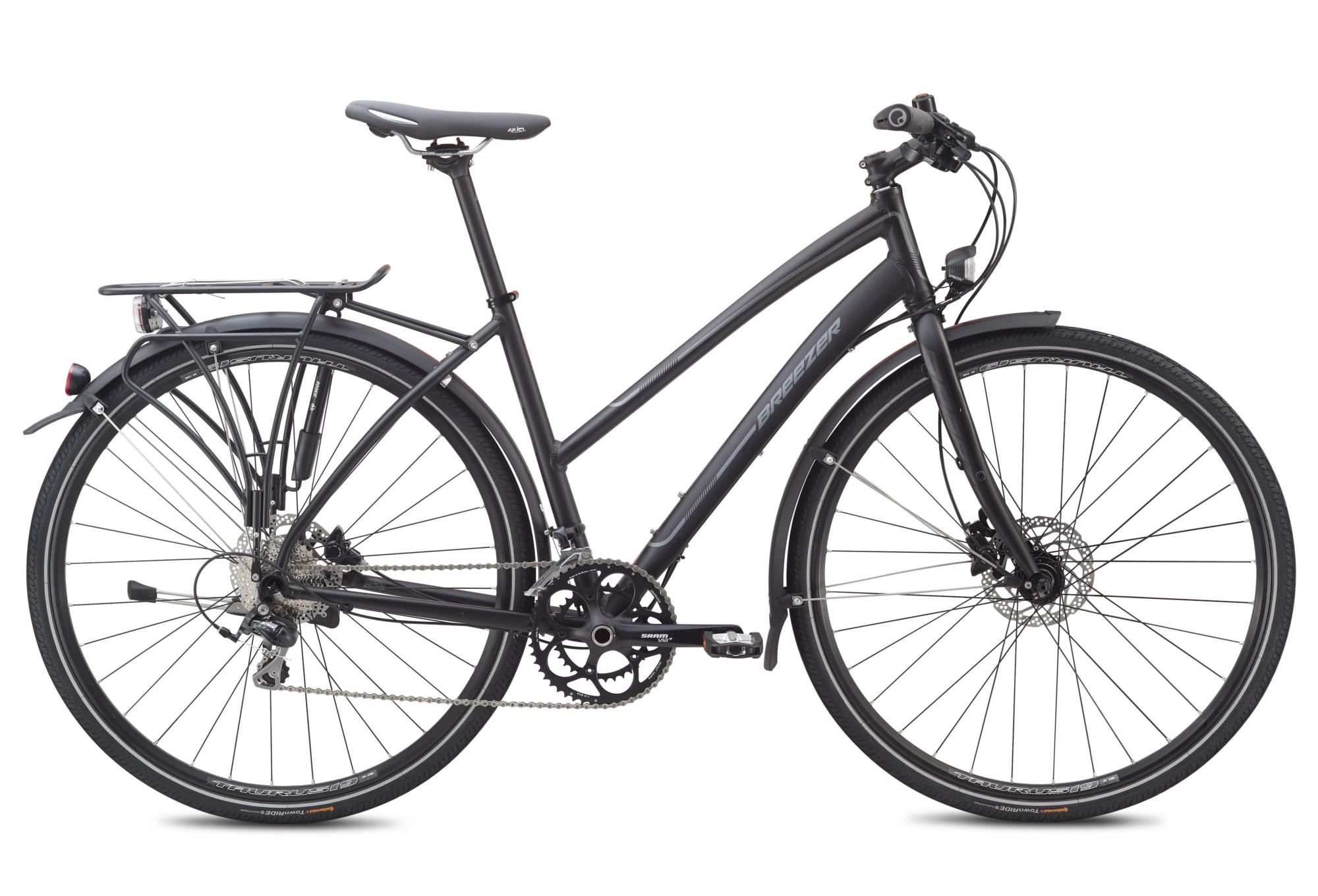 Breezer Woman Trekking Bike Liberty Lite 1 Shimano 105 10 Speed Black