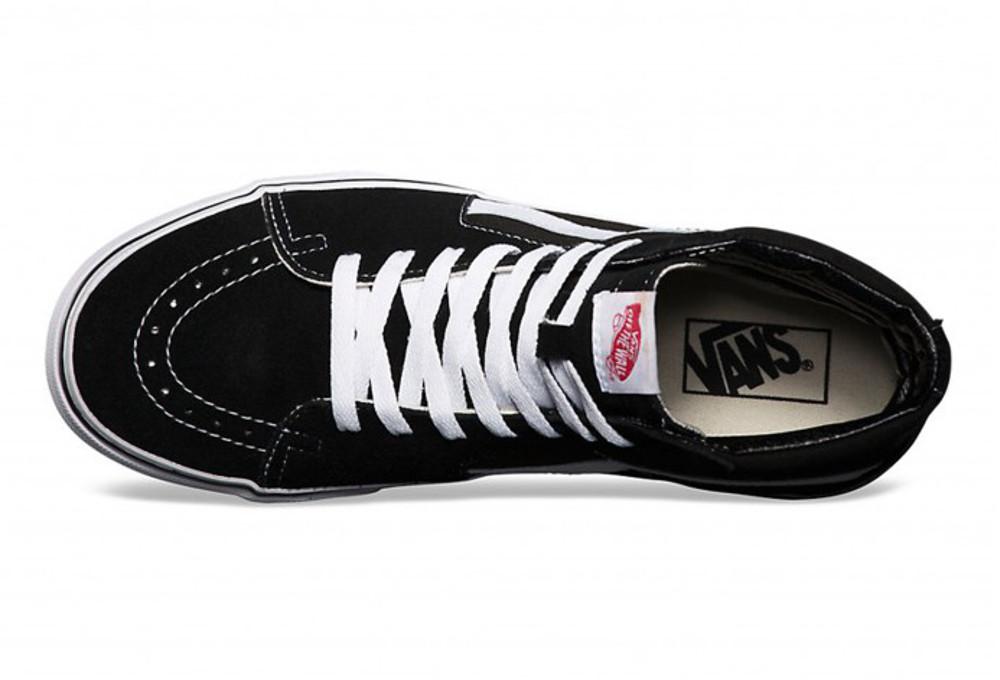 VANS Shoes SK8 HI Noir Blanc