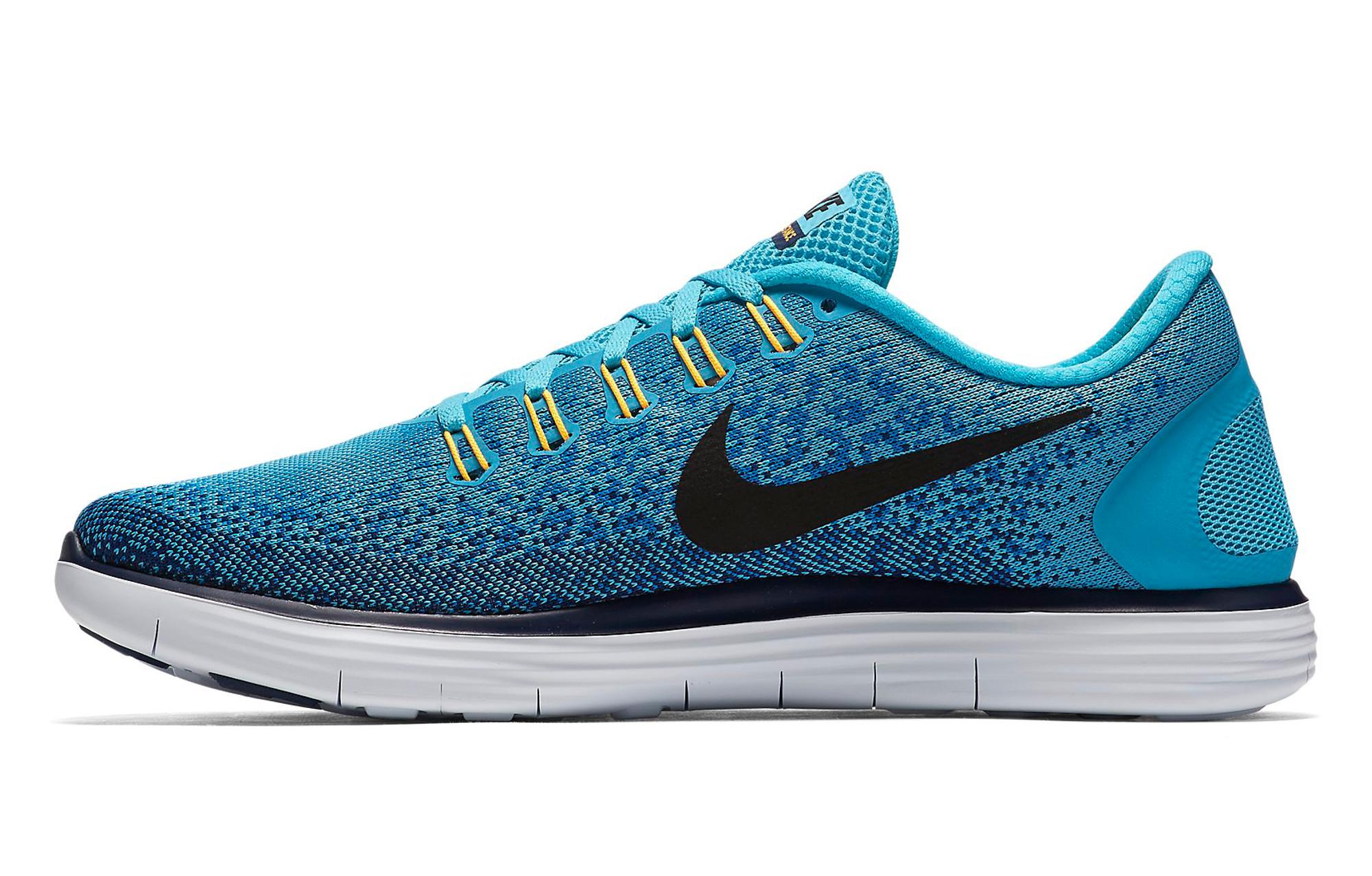 new concept 6b2f7 6de4f ... uk chaussures de running nike free run distance bleu 961ef c0637 ...