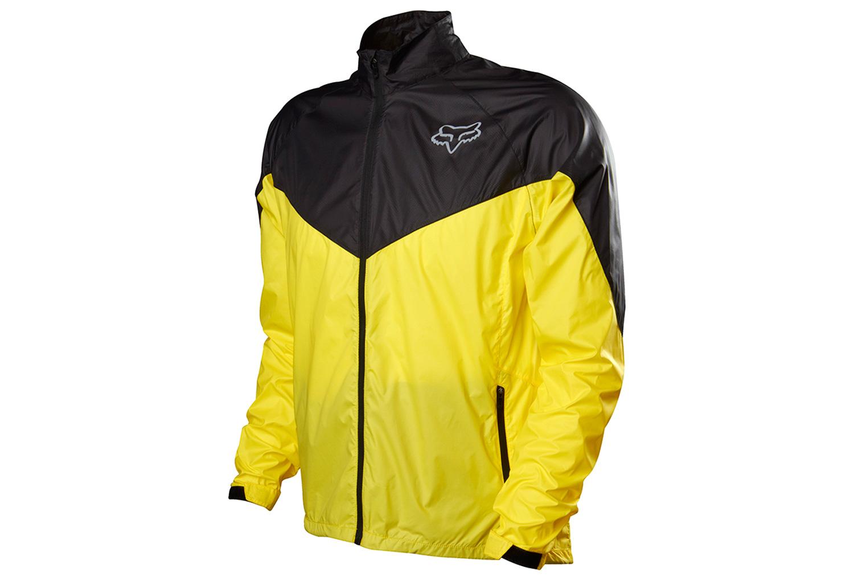 fox veste coupe vent dawn patrol jaune noir. Black Bedroom Furniture Sets. Home Design Ideas