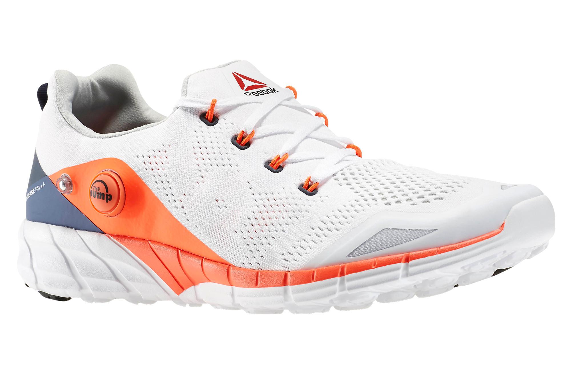 0d5f21be9c77 REEBOK Shoes ZPUMP FUSION 2.0 KNIT White Orange