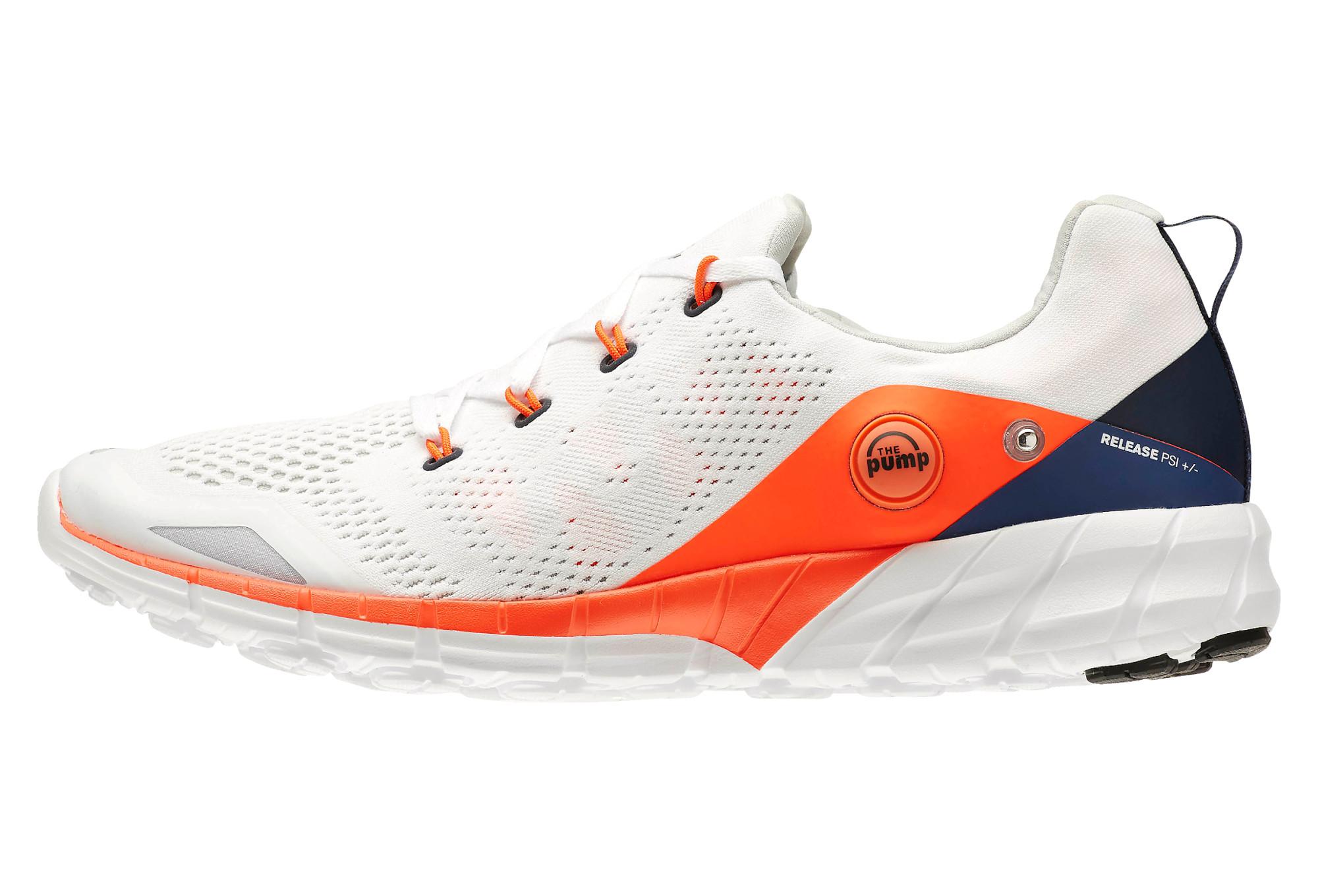 0b9d3ebc6 REEBOK Shoes ZPUMP FUSION 2.0 KNIT White Orange