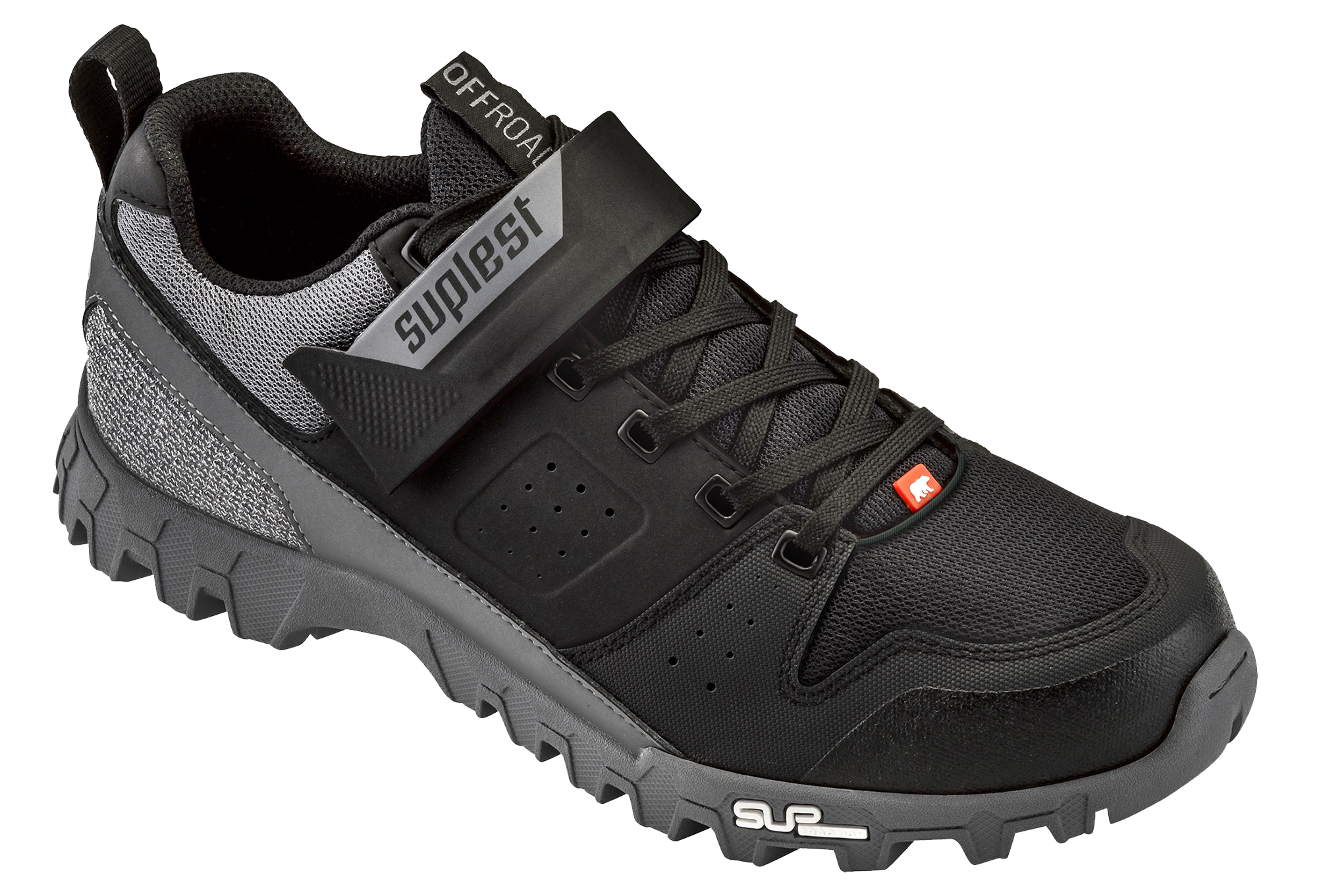 856e5ef9eac SUPLEST OFFROAD SERIES MTB Shoes Black Grey