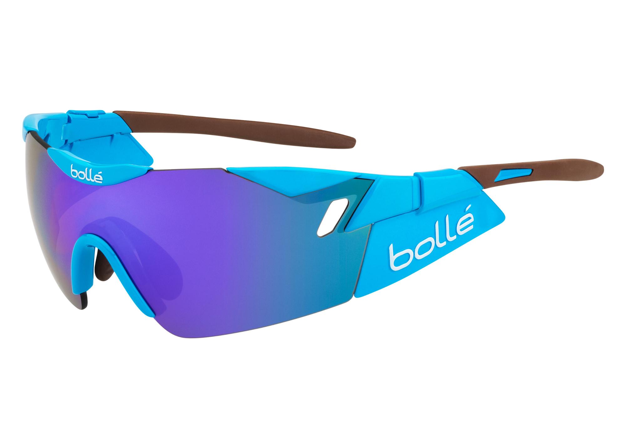 dcf5023c6d Lunette Cyclisme BOLLE 6th SENSE AG2R Bleu Marron - Violet ...
