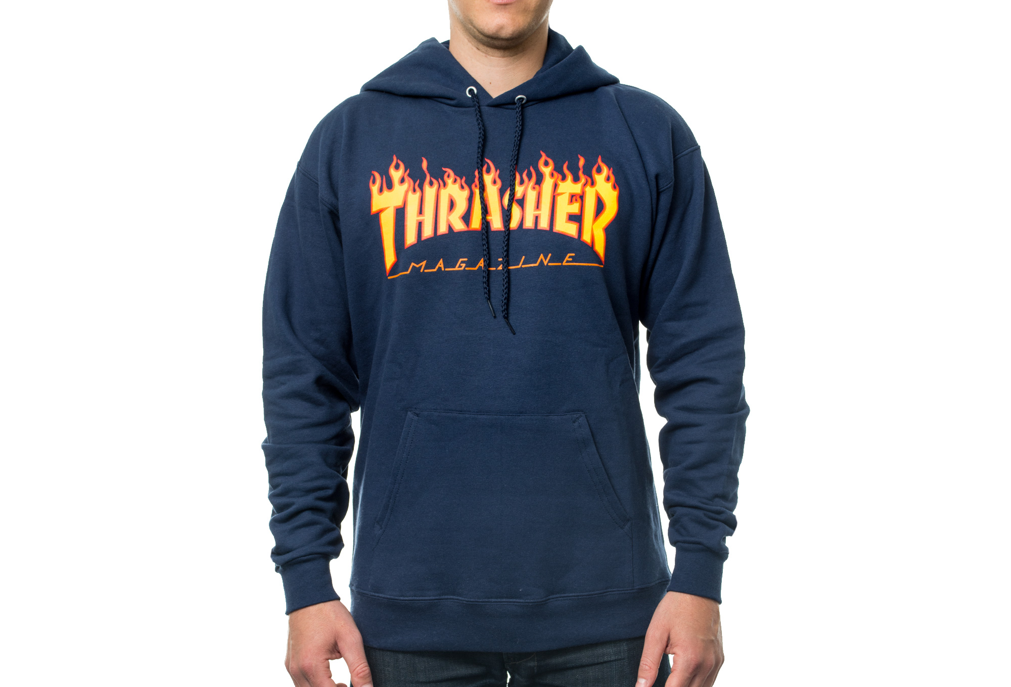 thrasher flame logo hoodie blue. Black Bedroom Furniture Sets. Home Design Ideas