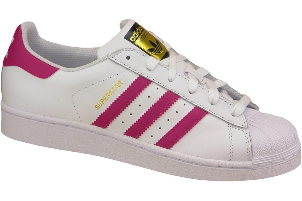cc1a191ab5a45 Adidas Superstar J Foundation B23644 Rose