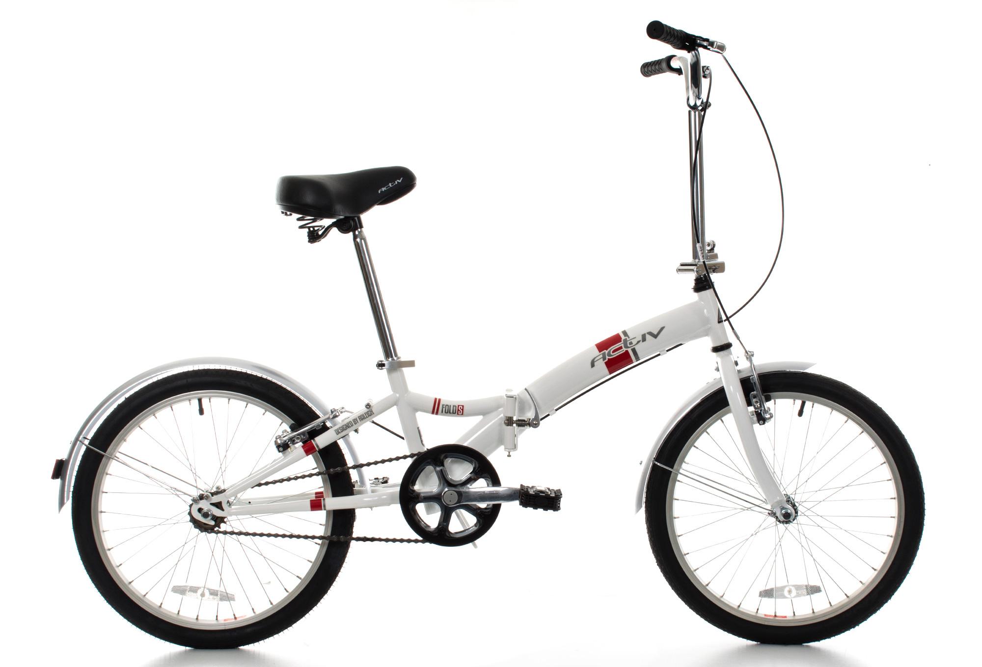 RALEIGH FOLD-S Folding Bike 20'' White