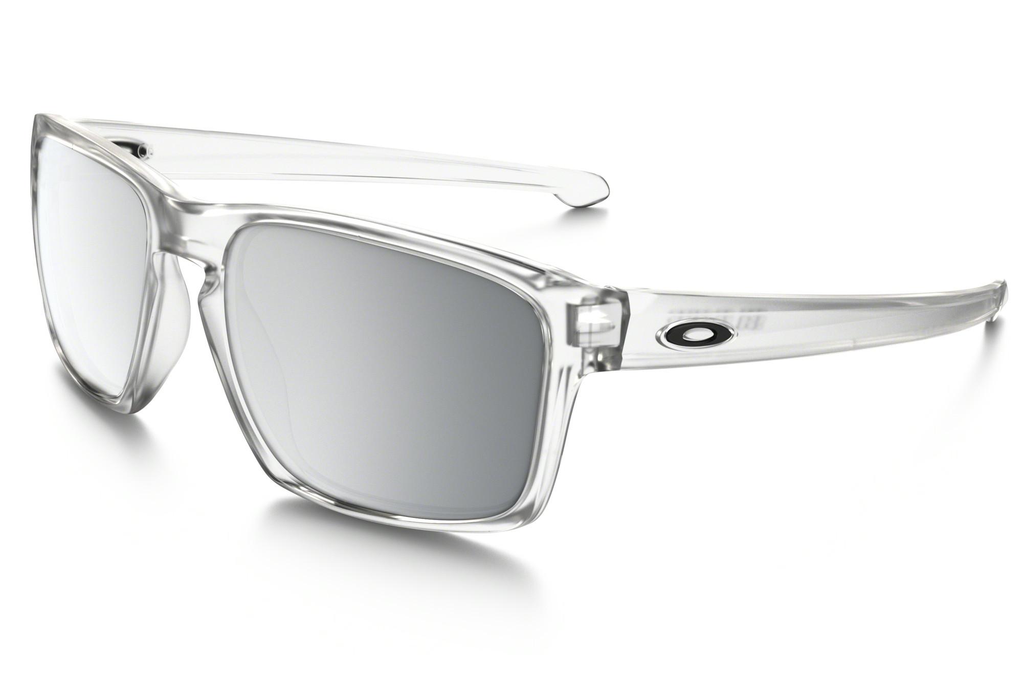 Lunettes OAKLEY SLIVER Transparent - Chrome Iridium Réf OO9262-23 ... eca13f5c4a33