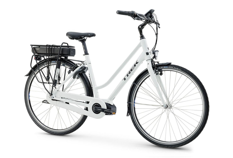 trek lm400 2016 woman e city bike shimano nexus 7 speed. Black Bedroom Furniture Sets. Home Design Ideas