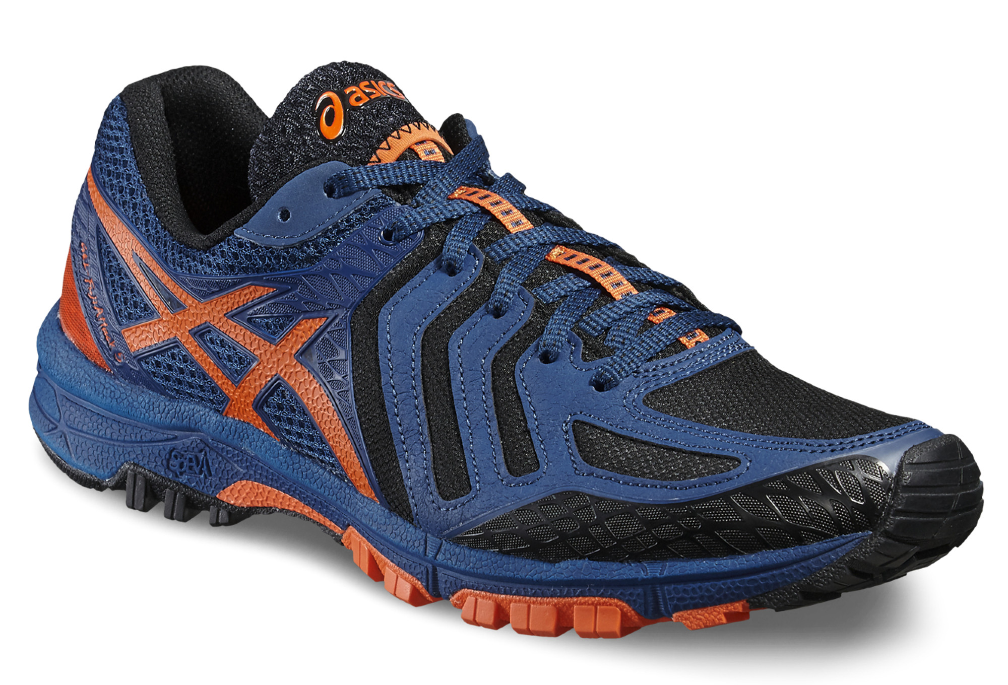 Asics 5 Orange Bleu Gel Fujiattack D29beHIWYE