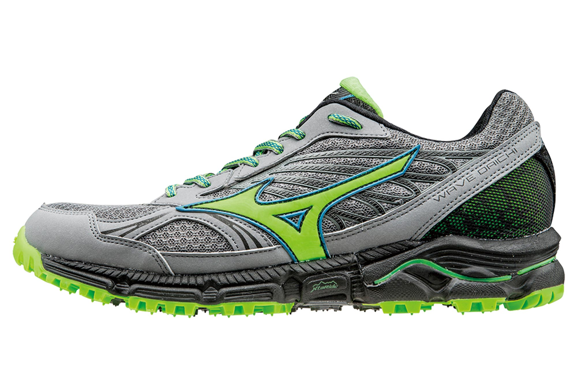 14135158447 MIZUNO Shoes WAVE DAICHI Grey Green Men
