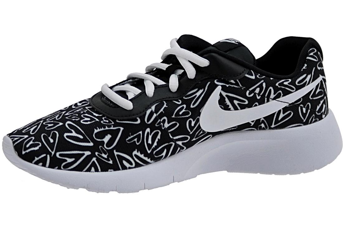 online store 0e877 921bf Nike Tanjun Print GS 833668-003 Blanc