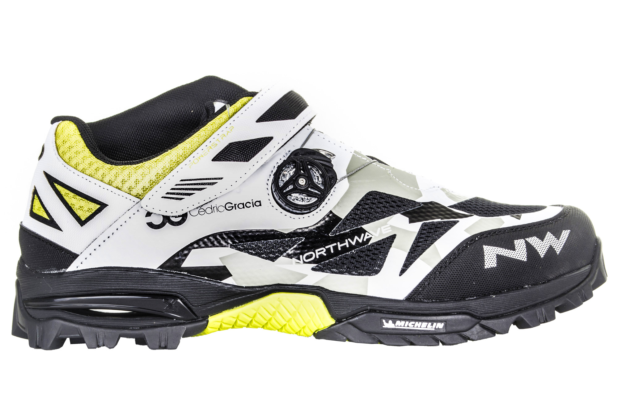 new images of new styles pretty nice Paire de Chaussures VTT NORTHWAVE ENDURO MID Édition Cedric Gracia  Camouflage Blanc Noir