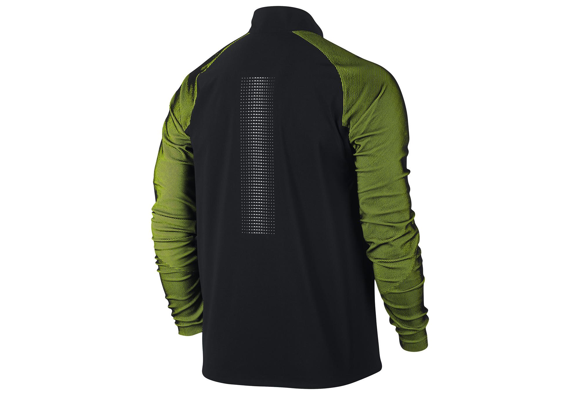 Nike Running Jacket Black Green Alltricks Com