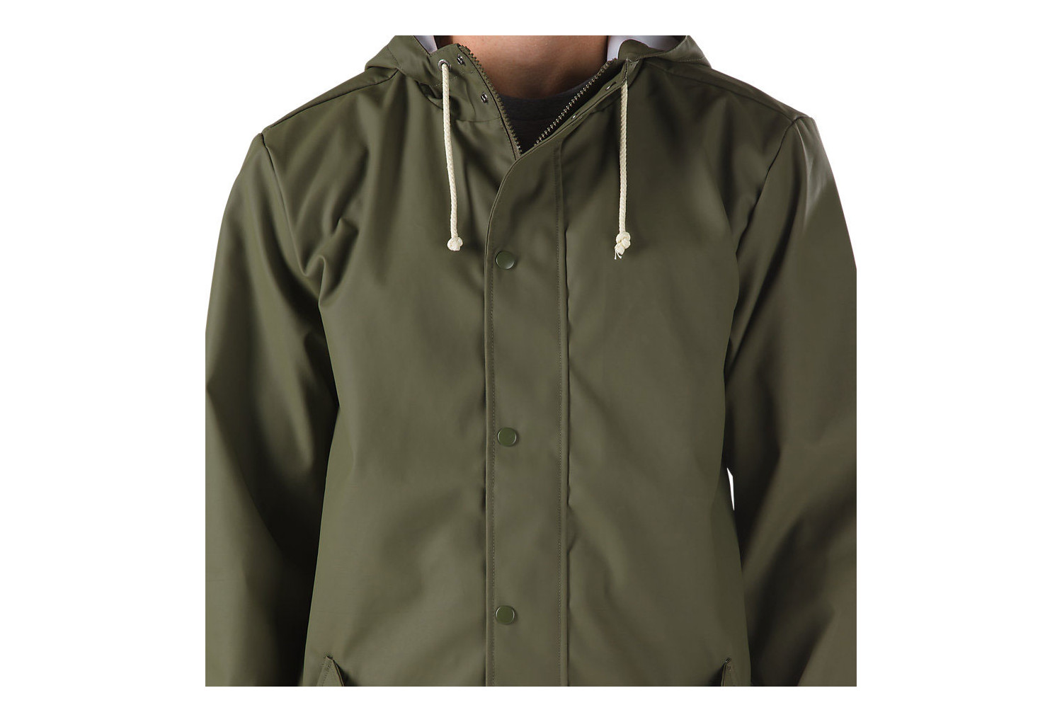 VANS Junipero Jacke Army Green