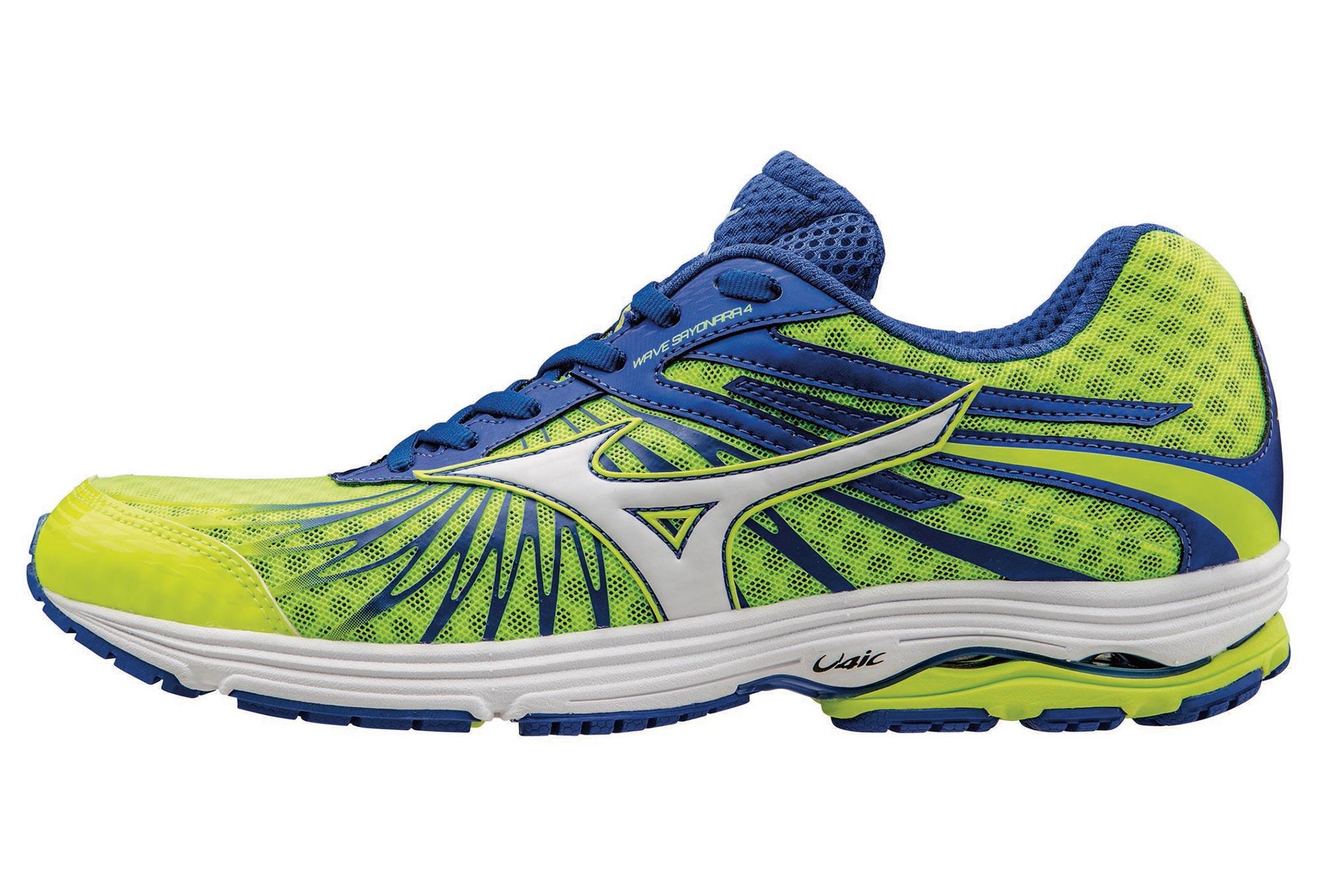 MIZUNO Shoes WAVE SAYONARA 4 Yellow Blue Men  eecbef79fa8