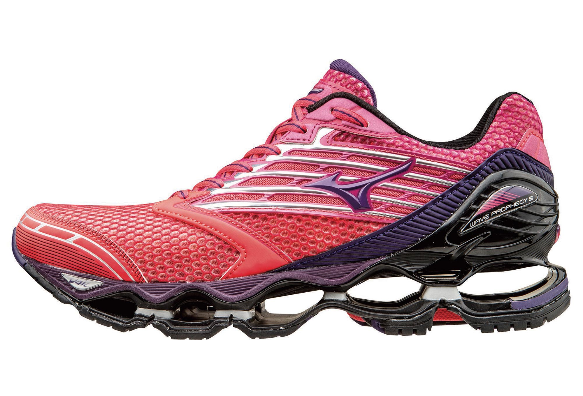 the best attitude 6e716 e7ced MIZUNO Shoes WAVE PROPHECY 5 Pink Purple Women   Alltricks.com