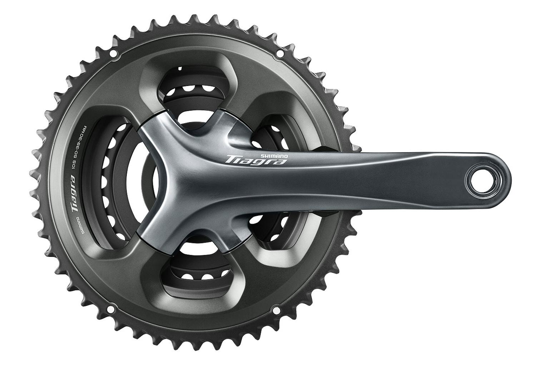 New Shimano Tiagra 4703 10 Speed Triple 30//39//50 Crankset 172.5mm
