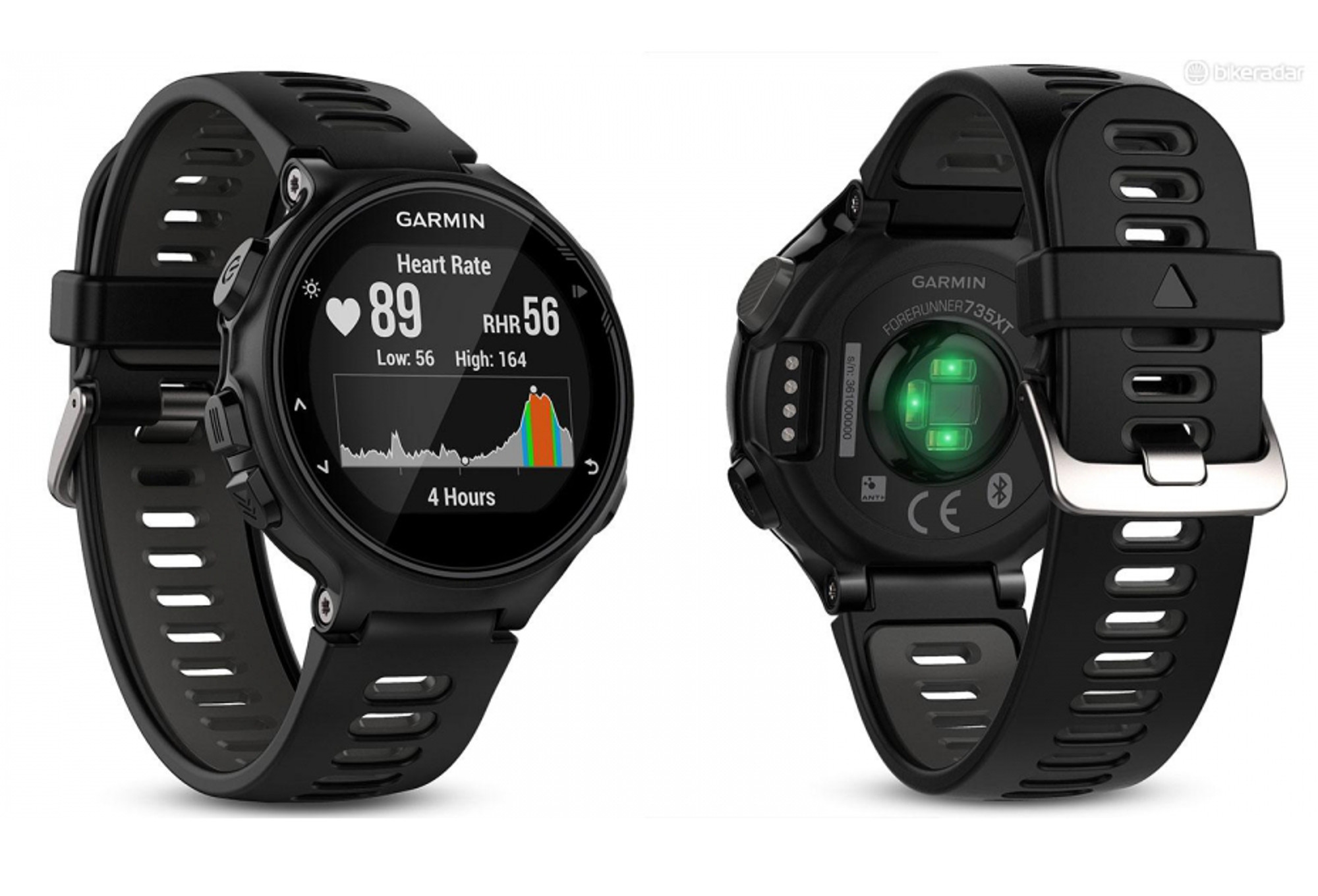 montre gps garmin forerunner 735xt pack tri noir gris. Black Bedroom Furniture Sets. Home Design Ideas