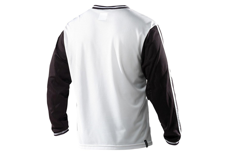 TROY LEE DESIGNS 2014 Long sleeves Jersey SUPER RETRO Black White ... 11d144769